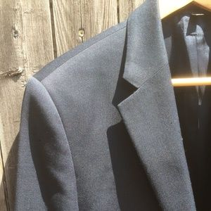Express 40R Producer suit jacket in Navy